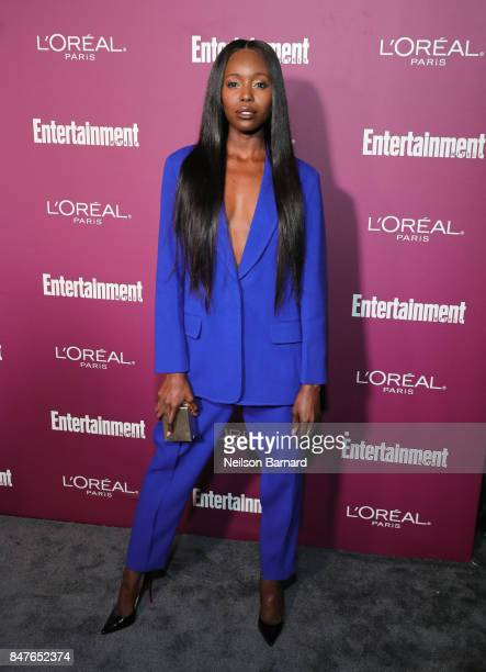Anna Diop attends the 2017 Entertainment Weekly PreEmmy Party at Sunset Tower on September 15 2017 in West Hollywood California