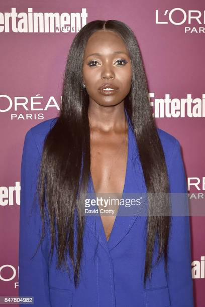 Anna Diop attends the 2017 Entertainment Weekly PreEmmy Party Arrivals at Sunset Tower on September 15 2017 in West Hollywood California