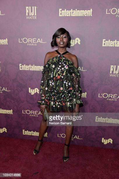 Anna Diop attends the 2018 PreEmmy Party hosted by Entertainment Weekly and L'Oreal Paris at Sunset Tower on September 15 2018 in Los Angeles...
