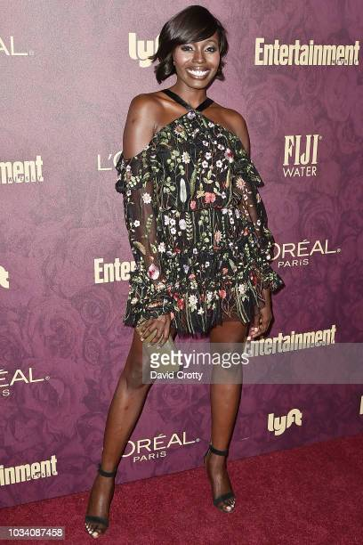 Anna Diop attends the Entertainment Weekly PreEmmy Party 2018 at Sunset Tower Hotel on September 15 2018 in West Hollywood California