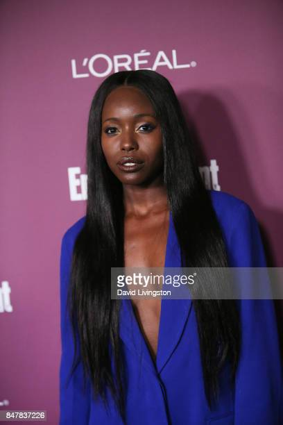 Anna Diop attends the Entertainment Weekly's 2017 PreEmmy Party at the Sunset Tower Hotel on September 15 2017 in West Hollywood California