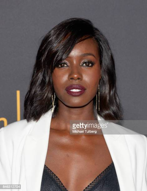 Anna Diop attends the Television Academy and SAGAFTRA's 5th annual Dynamic and Diverse Celebration at Saban Media Center on September 12 2017 in...