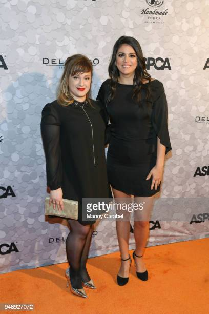 Anna Drezen and Cecily Strong attend the 21st Annual Bergh Ball hosted by the ASPCA at The Plaza Hotel on April 19 2018 in New York City