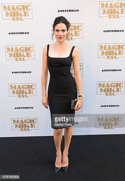 Anna Drijver attends the Amsterdam premiere of Magic Mike XXL on July 1 2015 in Amsterdam Netherlands