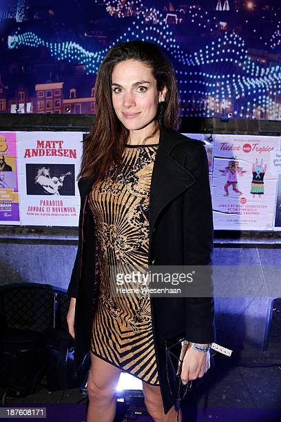 Anna Drijver attends the MTV Netherlands after party during the MTV EMA's 2013 on November 10 2013 in Amsterdam Netherlands