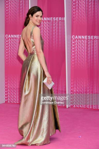 Anna Drijver from the serie 'Undercover' attends the Closing Ceremony and 'Safe' screening attends Closing Ceremony and Safe screening during the 1st...