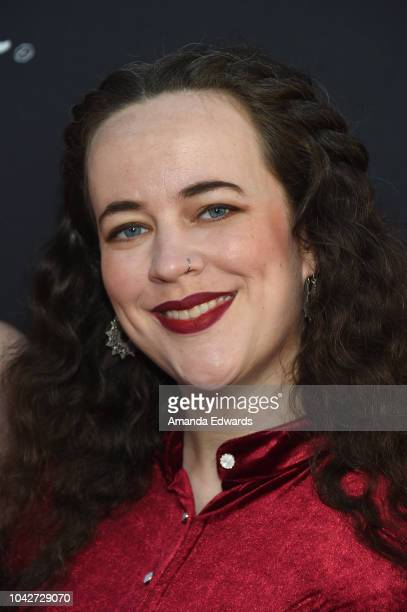 """Anna Duckworth attends the Closing Night Screening of """"Nomis"""" during the 2018 LA Film Festival at ArcLight Cinerama Dome on September 28, 2018 in..."""