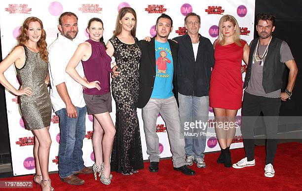 "Anna Easteden, David Deluise, Beckie King, Ellen Dubin, Brian Ronalds, Bill Lippincott, Christina Maria Davis and Richard Halverson arrive at ""Dead..."