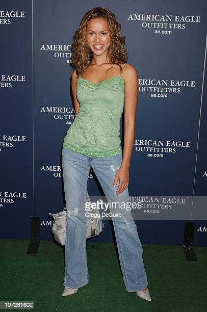 Anna Enger during American Eagle Outfitters Rocks Los Angeles with a Back To School Tailgate Party Arrivals at Hollywood Lot in Hollywood California...