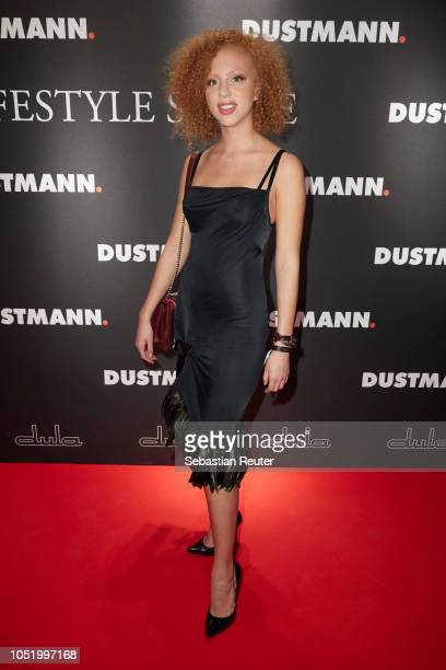 Anna Ermakova attends the Dustmann store preopening on October 12 2018 in Dortmund Germany