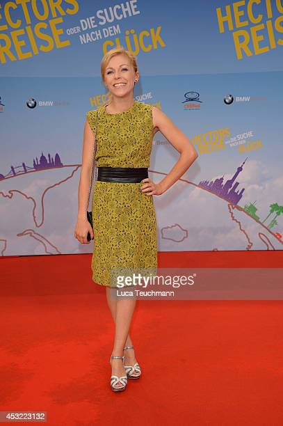 Anna Ewelina attends the premiere of the film 'Hector and the Search for Happiness' at Zoo Palast on August 5, 2014 in Berlin, Germany.