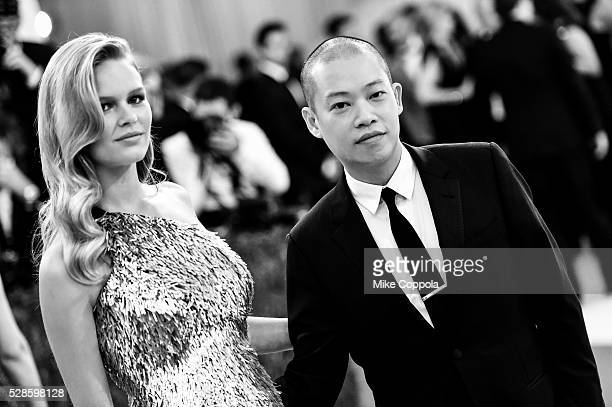 Anna Ewers and Jason Wu attend the 'Manus x Machina Fashion In An Age Of Technology' Costume Institute Gala at Metropolitan Museum of Art on May 2...