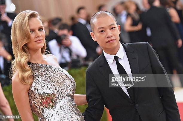 Anna Ewers and Jason Wu attend the Manus x Machina Fashion In An Age Of Technology Costume Institute Gala at Metropolitan Museum of Art on May 2 2016...