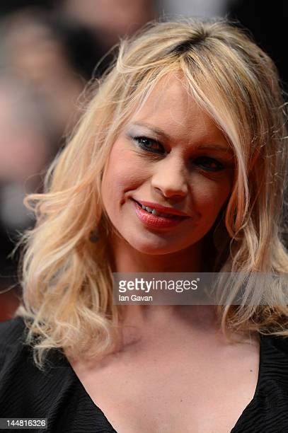 Anna Falchi attend the 'Dario Argento's Dracula 3D' Premiere during the 65th Annual Cannes Film Festival at Palais des Festivals on May 19 2012 in...