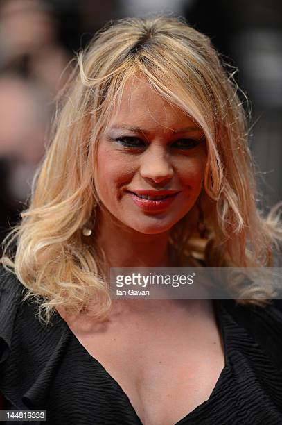 Anna Falchi attend the Dario Argento's Dracula 3D Premiere during the 65th Annual Cannes Film Festival at Palais des Festivals on May 19 2012 in...