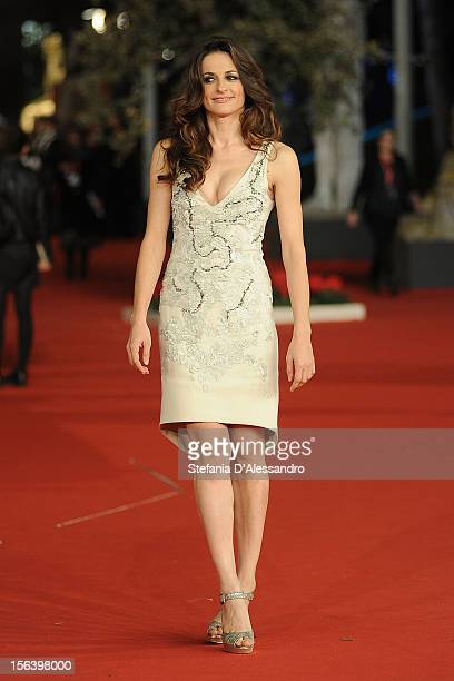 Anna Falchi attends 'E La Chiamano Estate' Premiere at Auditorium Parco Della Musica on November 14 2012 in Rome Italy