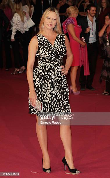 Anna Falchi attends the '2011 Rome Fiction Fest' at Auditorium Parco Della Musica non September 25 2011 in Rome Italy