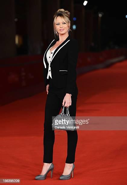 Anna Falchi attends the 'E La Chiamano Estate' Premiere during the 7th Rome Film Festival at the Auditorium Parco Della Musica on November 14 2012 in...