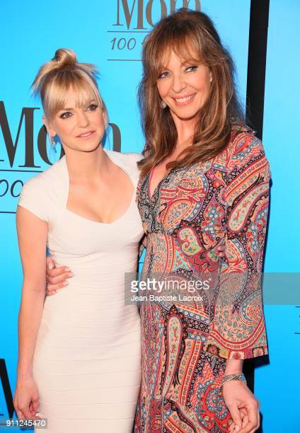 Anna Faris and Allison Janney attend CBS And Warner Bros Television's 'Mom' Celebrates 100 Episodes at TAO Hollywood on January 27 2018 in Los...