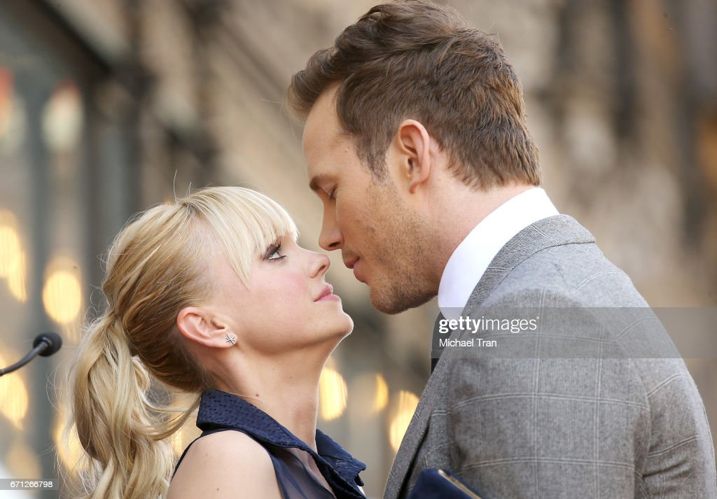 Chris Pratt Honored With Star On The Hollywood Walk Of Fame : Foto di attualità