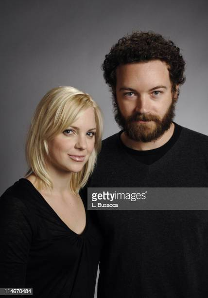 Anna Faris and Danny Masterson during 2007 Park City Hollywood Life House Portraits Day 3 at Hollywood Life House in Park City Utah United States