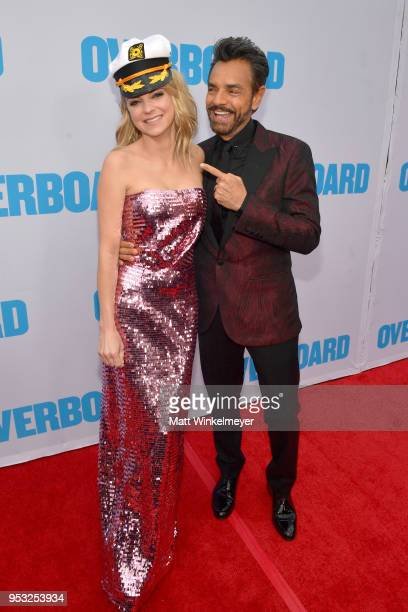 Anna Faris and Eugenio Derbez attend the premiere of Lionsgate and Pantelion Film's Overboard at Regency Village Theatre on April 30 2018 in Westwood...