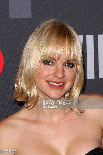 Anna Faris arrives at the William Rast For Target Private VIP Shopping Event at Factory Place on December 11 2010 in Los Angeles California