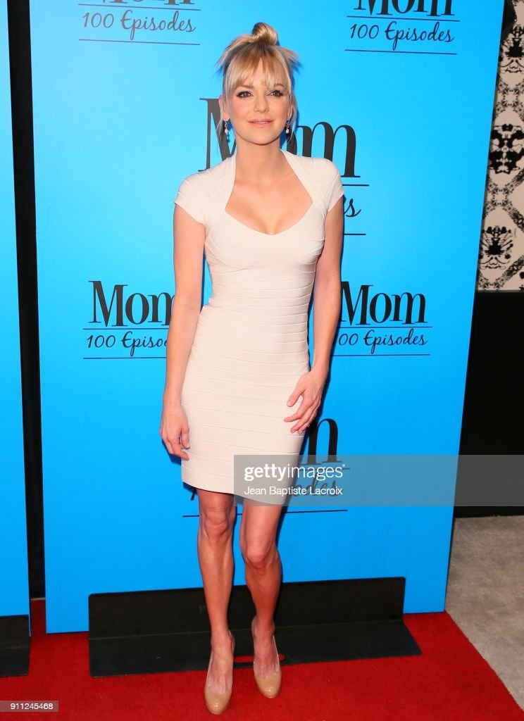 Anna Faris attends CBS And Warner Bros. Television's 'Mom' Celebrates 100 Episodes at TAO Hollywood on January 27, 2018 in Los Angeles, California.