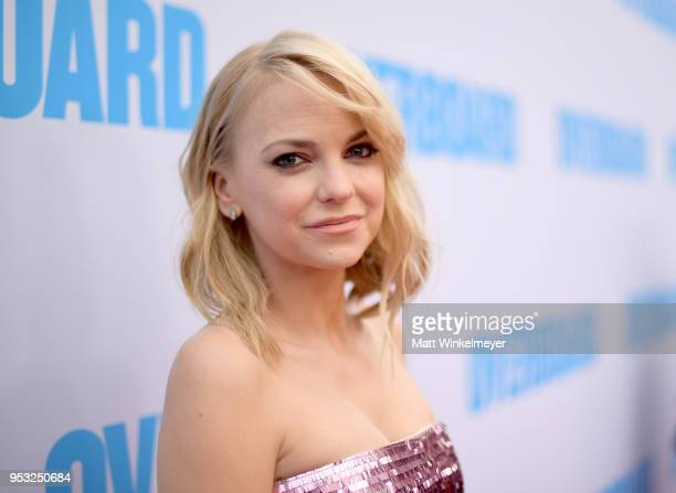 Anna Faris attends the premiere of Lionsgate and Pantelion Film's Overboard at Regency Village Theatre on April 30 2018 in Westwood California