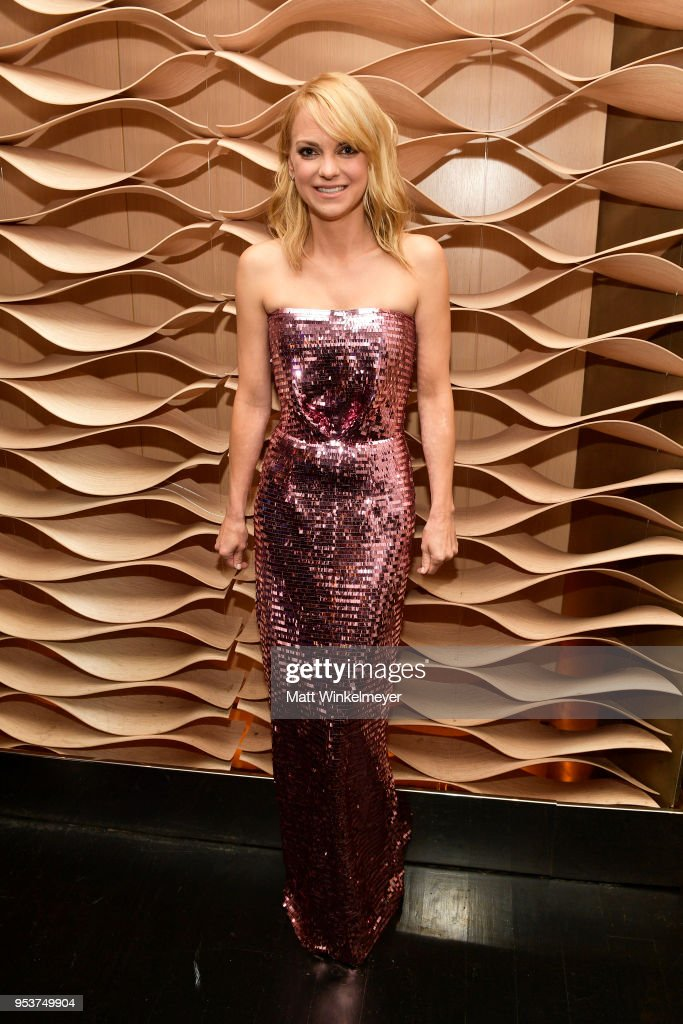 Anna Faris attends the Premiere of Lionsgate and Pantelion Film's 'Overboard' After Party at Regency Village Theatre on April 30, 2018 in Westwood, California.