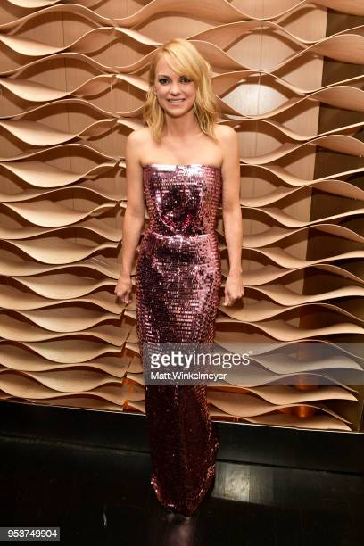 Anna Faris attends the Premiere of Lionsgate and Pantelion Film's 'Overboard' After Party at Regency Village Theatre on April 30 2018 in Westwood...