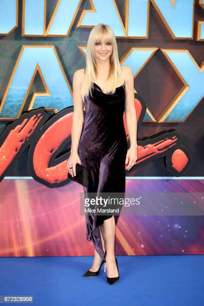 Anna Faris attends the UK screening of 'Guardians of the Galaxy Vol 2' at Eventim Apollo on April 24 2017 in London United Kingdom