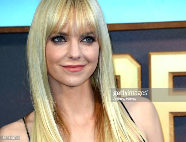 Anna Faris attends the UK screening of Guardians of the Galaxy Vol 2 at Eventim Apollo on April 24 2017 in London United Kingdom