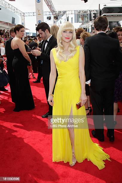 Anna Faris from Mom on the red carpet for the 65th Primetime Emmy Awards which will be broadcast live across the country 8001100 PM ET/ 500800 PM PT...