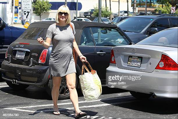 Anna Faris is seen on August 09 2012 in Los Angeles California