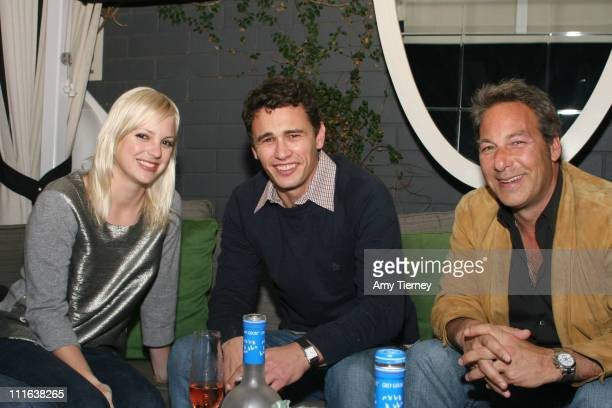 Anna Faris, James Franco and Henry Winterstern, President & CEO of First Look