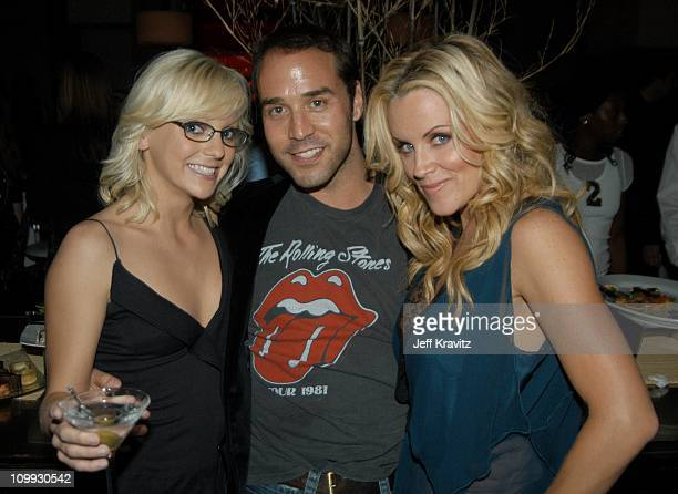 Anna Faris Jeremy Piven and Jenny McCarthy during Scary Movie 3 Los Angeles Premiere After Party at The W Hotel in Westwood California United States