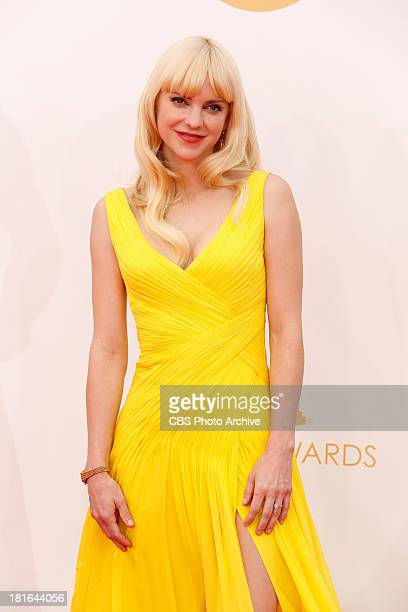 Anna Faris on the Red Carpet for the 65th Primetime Emmy Awards which will be broadcast live across the country 8001100 PM ET/ 500800 PM PT from...