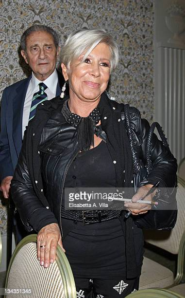 Anna Fendi attends the auction Art For Peace in support of Soleterre Strategie di Pace charity organization at the Hotel de Russie on May 30 2008 in...