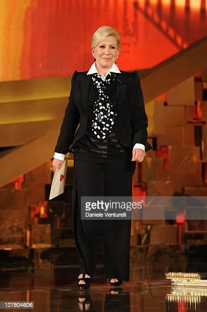 Anna Fendi attends the 'David Di Donatello' movie awards at the Auditorium Conciliazione on May 6 2011 in Rome Italy