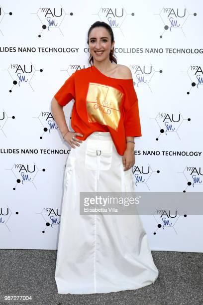 Anna Ferraioli Ravel attends Sfilata AU197SM AltaRoma on June 29 2018 in Rome Italy
