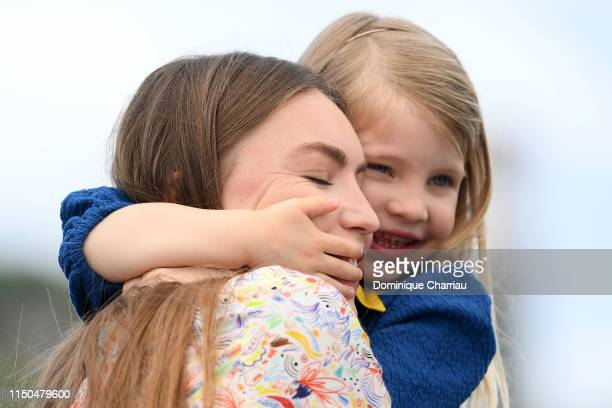 Anna Ferrara and Cristina Chiriac attend the photocall for Tommaso during the 72nd annual Cannes Film Festival on May 20 2019 in Cannes France