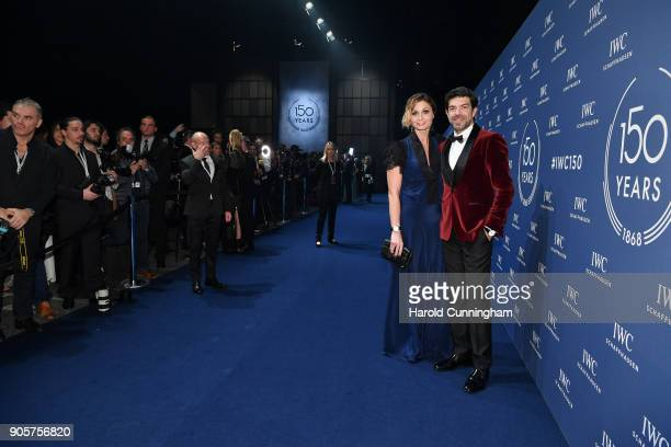 Anna Ferzetti and Pierfrancesco Favino attend the IWC Schaffhausen Gala celebrating the Maisons 150th anniversary and the launch of its Jubilee...