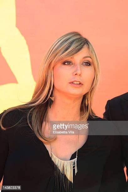 Anna Ferzetti arrives at the 'Premi David di Donatello' awards ceremony at the Auditorium Della Conciliazione on May 4 2012 in Rome Italy