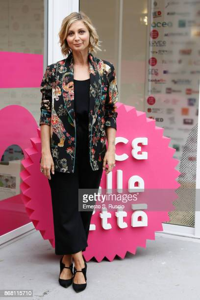 Anna Ferzetti attends 'Cercando Camille' photocall during the 12th Rome Film Fest at Auditorium Parco Della Musica on October 30 2017 in Rome Italy
