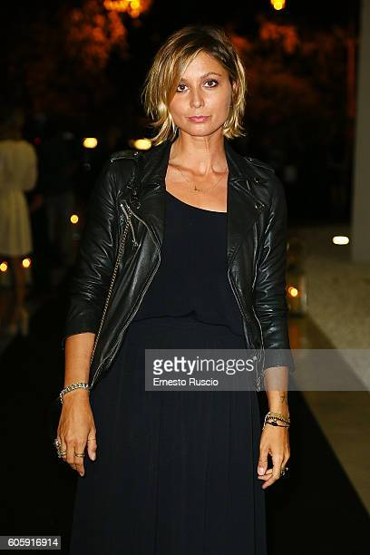 Anna Ferzetti attends 'Francesco Escalar Glamour 'n Soul' opening at Museo Maxxi on September 15 2016 in Rome Italy