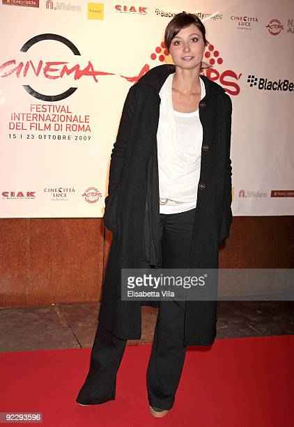 Anna Ferzetti attends the Ciak Party during Day 8 of the 4th International Rome Film Festival held at the Officine Farneto on October 22 2009 in Rome...