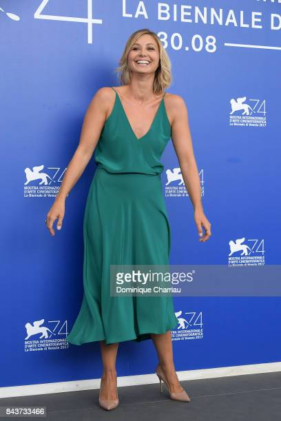 Anna Ferzetti attends the 'Emma ' photocall during the 74th Venice Film Festival on September 7 2017 in Venice Italy
