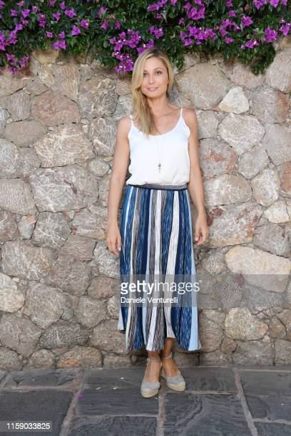 Anna Ferzetti attends the Nastri D'Argento press conference in Taormina on June 29 2019 in Taormina Italy