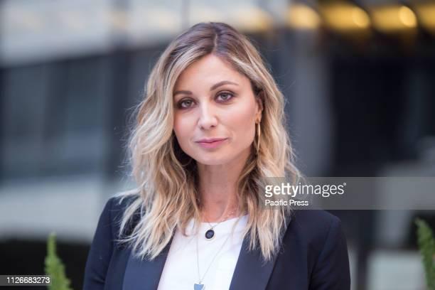 Anna Ferzetti during the photocall in Rome of the Italian film Domani è un altro Giorno